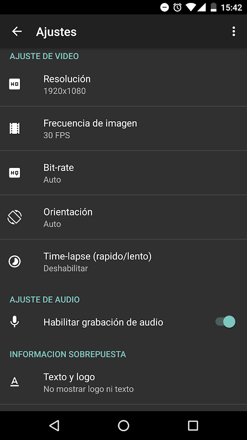 AZ Screen Recorder - No Root: captura de pantalla