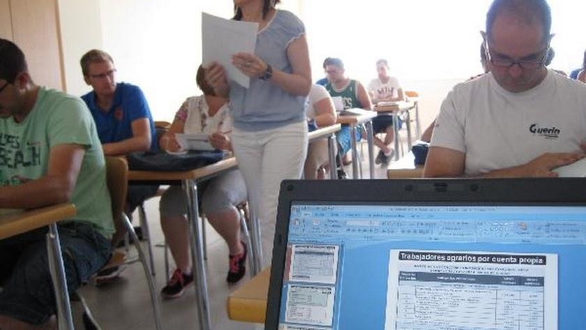 Imagen de archivo de un curso impartido en Ifapa.