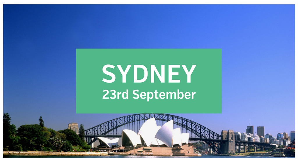 Sydney Unconvention - 23rd September