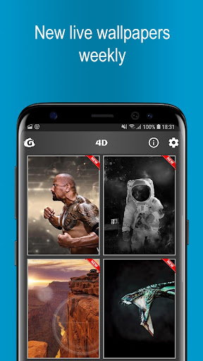 GRUBL - 3D & 4D Live Wallpaper 1.1.7 screenshots 3