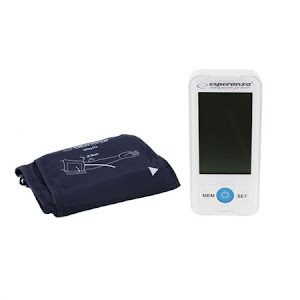 Tensiometru electronic de brat Esperanza Vitality, detecteza aritmie cardiaca, 90 memorii