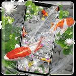 Therapeutic Lucky Koi Fish Satisfaction Theme Icon