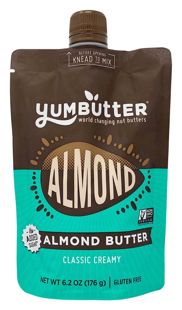 No-Sugar Added Classic Creamy Almond Butter