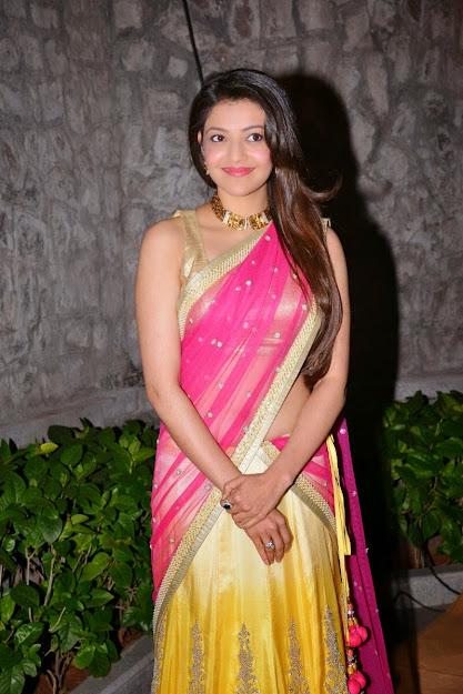 Kajal Agarwal cute, Kajal Agarwal in saree