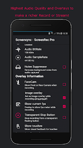 Screensync Screen Recorder, Vid Editor, Live Pro 1.7.6.0.4 Mod + Data for Android 2