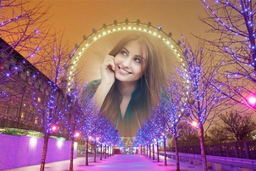 London Night Photo Effects