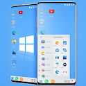 Win 10 theme for computer launcher 2020 icon