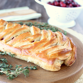 Cranberry Turkey Puff Pastry.