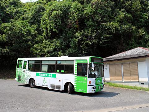 西鉄バス宗像「志賀島ぐりーん」 5718 勝馬折り返し場にて