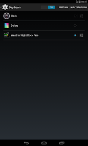 Weather Night Dock Free screenshot 5