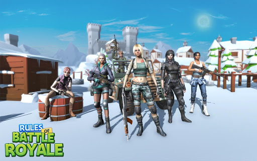 RULES OF BATTLE ROYALE  astuce | Eicn.CH 1