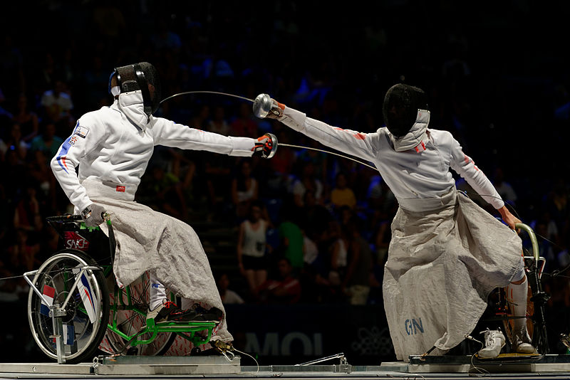 Fencing in wheelchairs