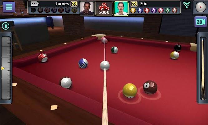 3D Pool Ball - screenshot