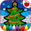 Paint By Number Christmas Game icon
