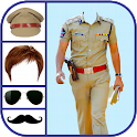 Men Police Suit Photo Editor - Men Police Dress icon