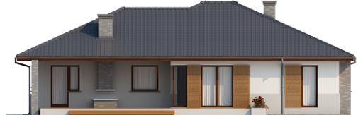 Lucjan G1 Leca® Dom - Elewacja tylna