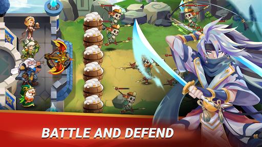 Castle Defender: Hero Idle Defense TD modavailable screenshots 9