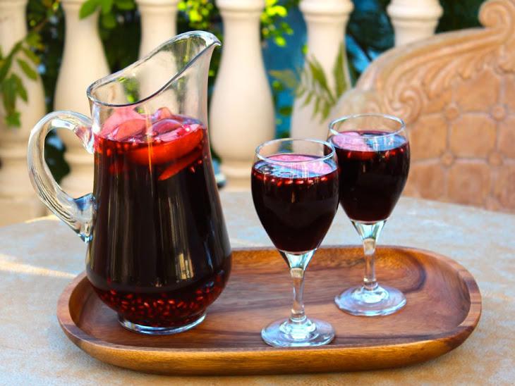 Rosh Hashanah Sangria Recipe