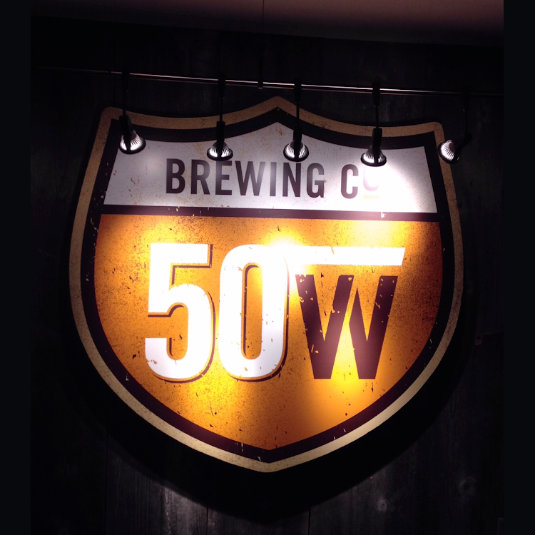 Logo of 50 West American Lager