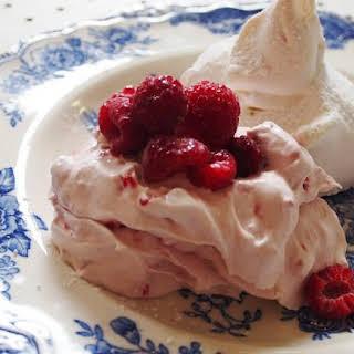Raspberry Cream Meringue Dessert Recipes.