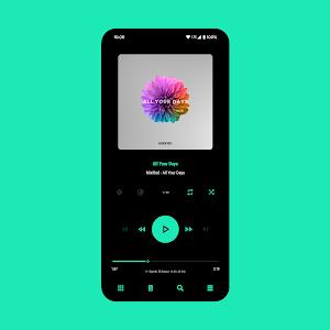 Aurora - Poweramp v3 Skin 4.5 (Paid)