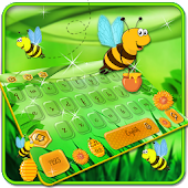 Bees keyboard Theme