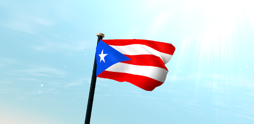Puerto Rico Flag 3D Free - Apps on