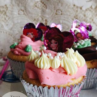 Peach Cream Cupcakes