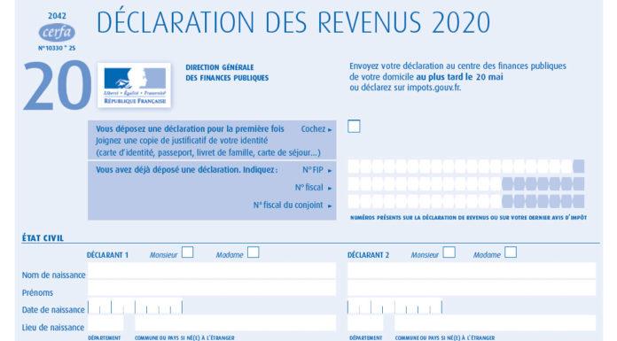 declaration revenus locatifs non-résident