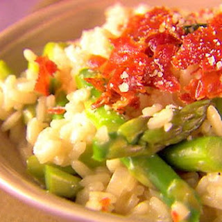 Champagne Risotto With Asparagus and Pancetta