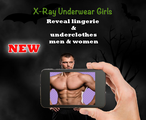 XRay Underwear Girls Simulated