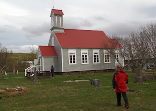 Photo: Next we visited Reykholt.  A church has been on this site since the 11th century.  This church was built in 1886.