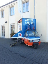 Photo: day number #2 ~ cash car in front ofthe fair as the gold bugs tend to pay anonymous by cash instead via credit cards ~ http://jarogruber.blogspot.de/2015/11/edelmetalmesse.html