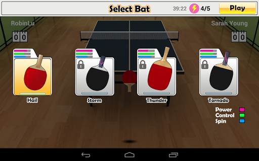 Virtual Table Tennis screenshots 24