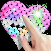 Sequin Flip Live Wallpaper Heart
