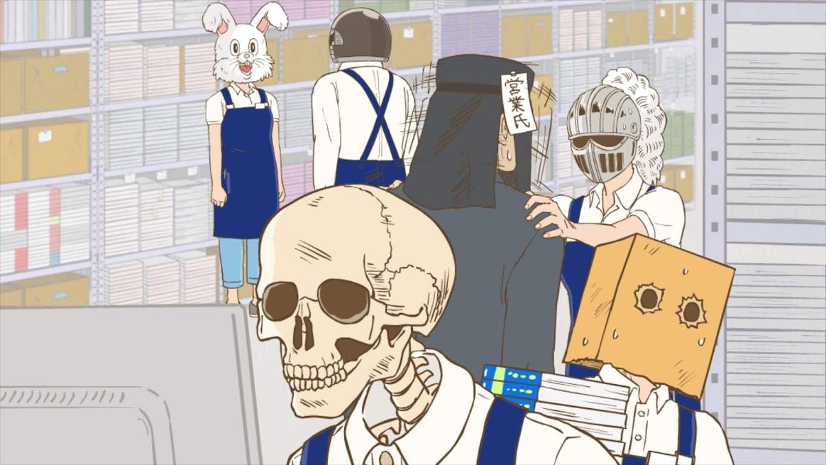 「ガイコツ書 店員 本田さん」第一話先行カット2