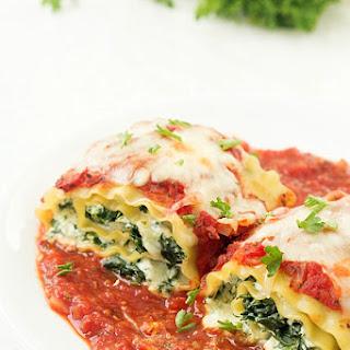 Lasagna Noodle Roll Ups Recipes.