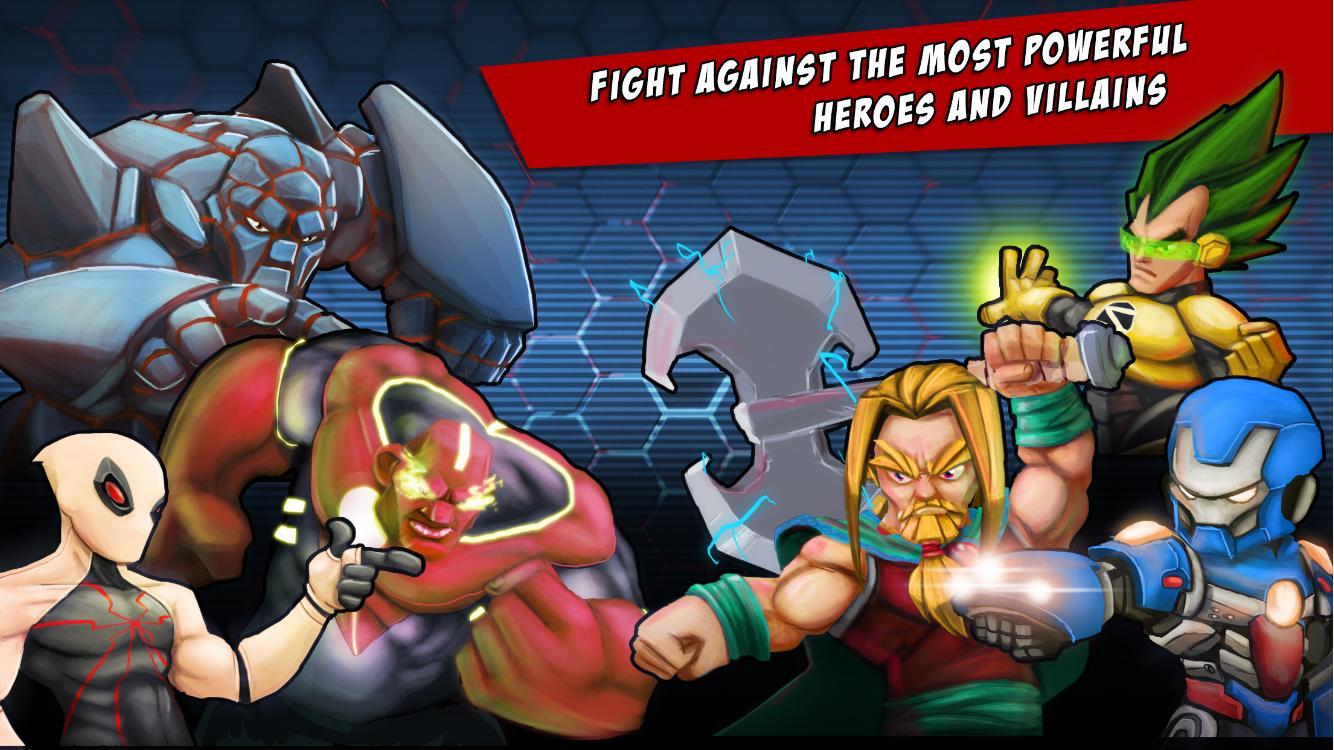 Superheros Free Fighting Games- screenshot