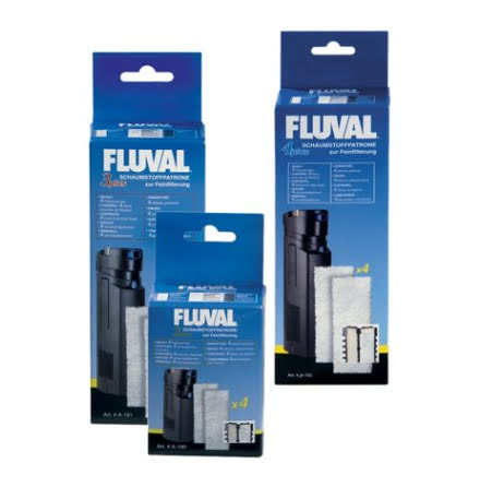 Filtermatta Fluval 3 Plus 4st Polyester Fin A191