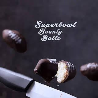 3-ingredient Superbowl Bounty balls.