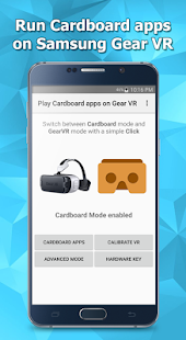 Play Cardboard apps on Gear VR- screenshot thumbnail