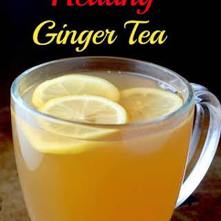 Healing Ginger Tea.