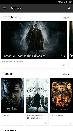HD box -Free Movies & TV Shows 4.0 screenshots 1