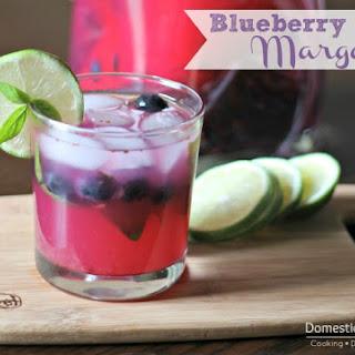 Blueberry Basil Margaritas.