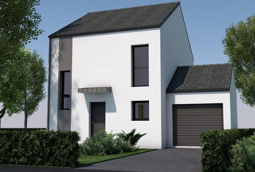 Vente Terrain + Maison - Terrain : 565m² - Maison : 82m² à Nivillac (56130)