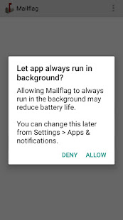 App Mailflag email notification filter APK for Windows Phone