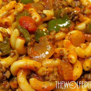 American Chop Suey Recipe - How To Make Classic American Chop Suey.