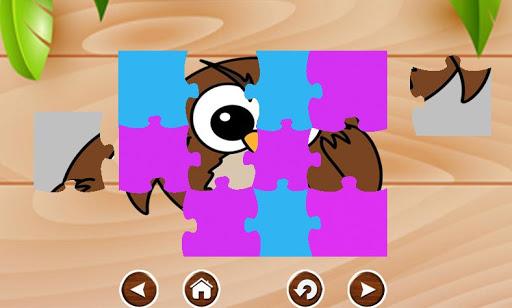 Kids Bird Jigsaws