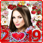 Happy New Year Photo Frame 2019