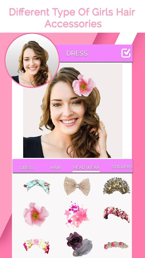 Change Girl Hairstyle Android Apps On Google Play - Hair style change photo effect